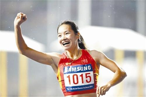 韦永丽闪耀日本 田联大奖赛百米决赛夺冠