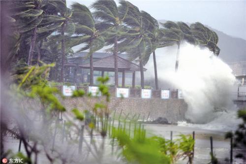 海南台风灾害影响评估三维模拟系统投入业务试运行