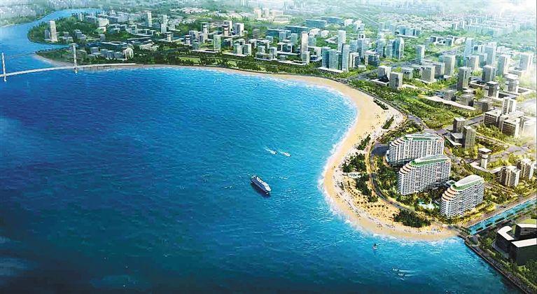 海口投入5000多万元整治修复海口湾生态