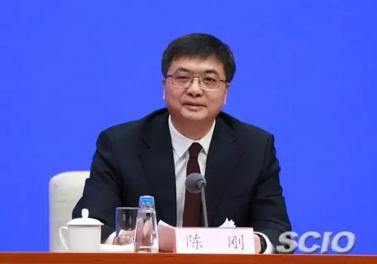 河北省委常委、副省长,河北雄安新区党工委书记、管委会主任陈刚。刘健 摄