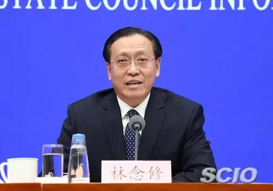 京津冀协同发展领导小组办公室副主任、国家发展改革委副主任林念修。张馨 摄