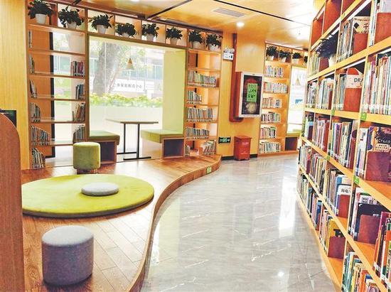 ▲7月30日,玉田社区图书馆正式开放。