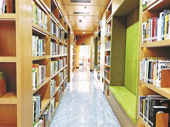 """▲""""以人为本""""是玉田社区图书馆的设计原点。"""