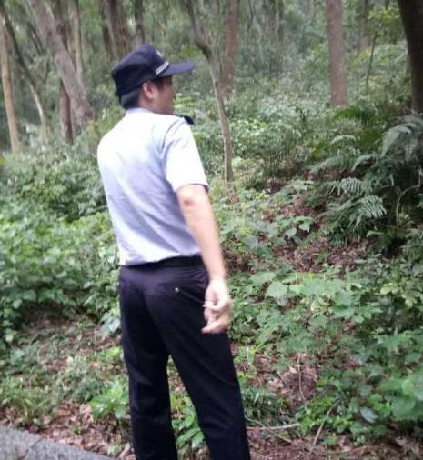 杭州馒头山发现一具男性尸体 被发现时倒挂树上