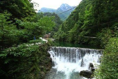 湖北咸宁九宫山-温泉地质公园