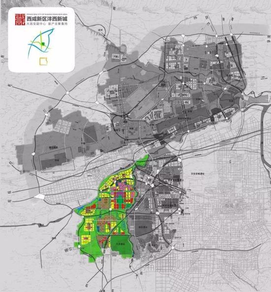 沣西新城低密度的城市规划,-对标上海张江 大西安时代,这里将诞生
