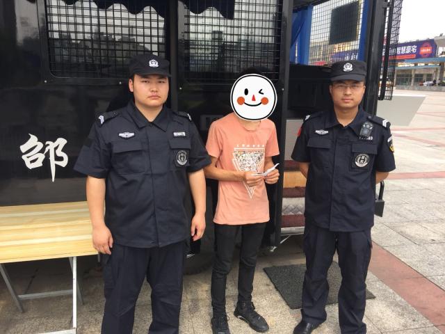 邵阳一男子逃出传销窝点走投无路 警方助其回家