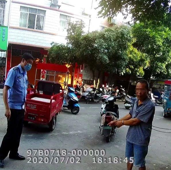 电动车非法加装 南宁一车主用U型锁打伤执勤人员被刑拘