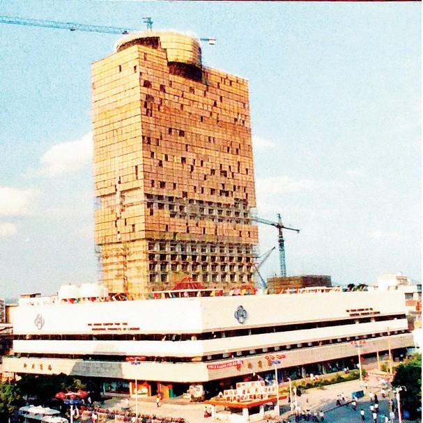 """""""八桂第一楼""""的建设 藏着几代人满满的回忆"""