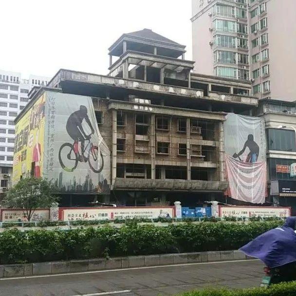 桂林市中心最著名烂尾楼的处理新进展:未来有新规划