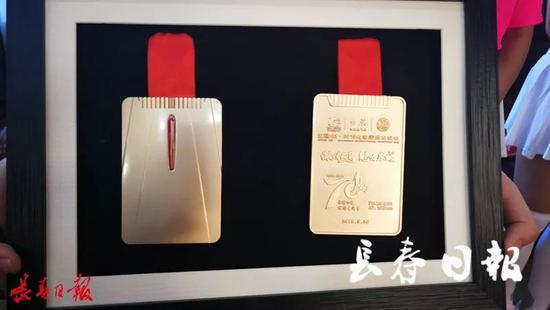 2019长马奖牌、赛服样式发布