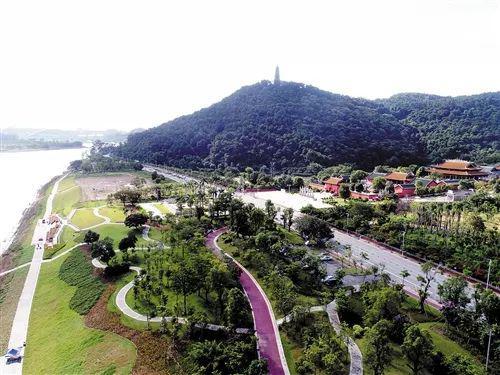 邕江景观工程(邕江滨水公园—孔庙广场)示范段
