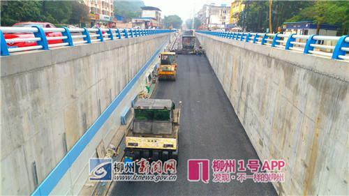 """就在""""五一""""!柳州五岔路口改造工程项目将全线通车"""