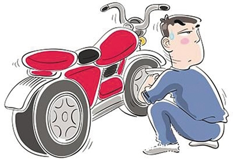 广西一男子路边偷走摩托车 未及销赃便落入法网