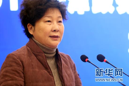 中共天津市委宣传部副部长、市委网信办主任王芸致辞