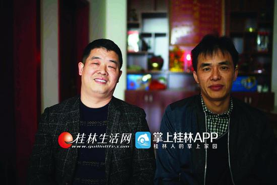 桂林两打工男子摆45桌请全村吃春宴 就图这个想法