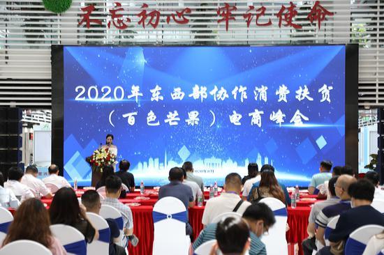 2020东西部协作消费扶贫(百色芒果)电商峰会在深圳举行