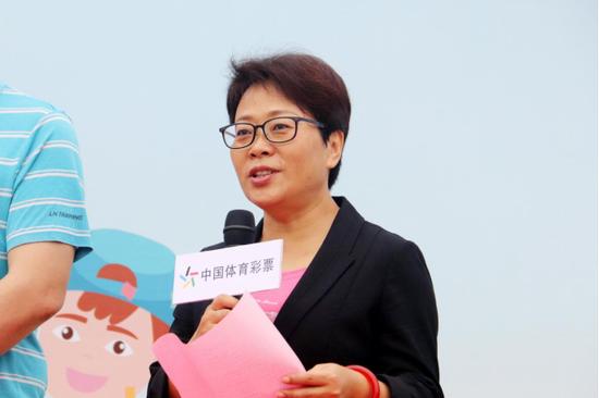 广西体育彩票管理中心党支部书记、主任李广致辞