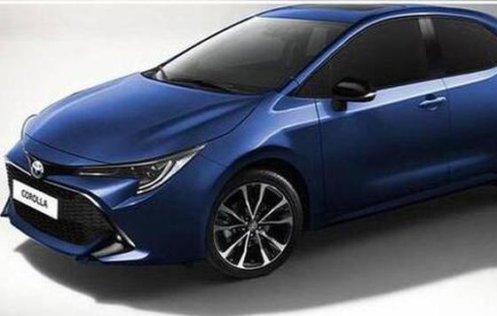 新卡罗拉预告图发布 将广州车展发布