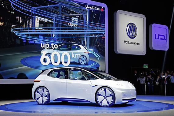 大众I.D.电动车将路试 或明年发布