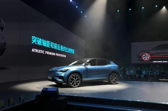 电咖纯电SUV ME7亮相 上海车展预售