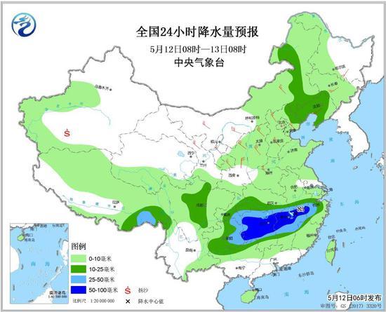 未来3天广东维持多云到晴天天气 最高气温达34℃