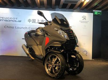 国内首款倒三轮摩托上市 售11.68万
