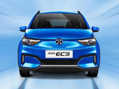 新款EC3将成都车展上市 内饰更运动