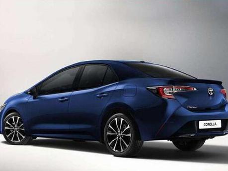 卡罗拉预告图发布 将广州车展发布