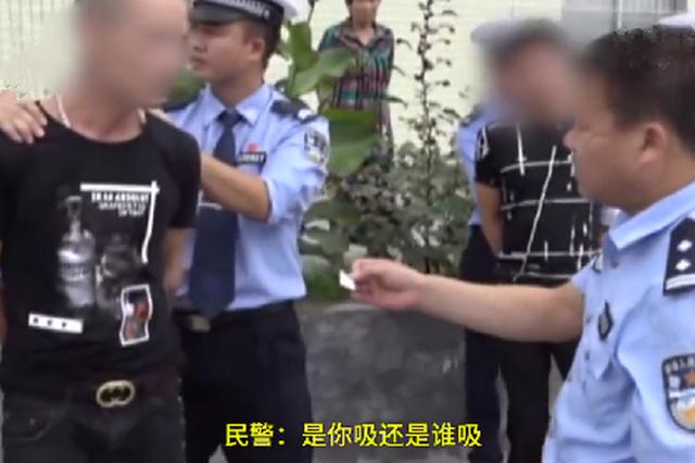 广西一男子肇事逃逸被抓 称很幸运在监狱无忧无虑