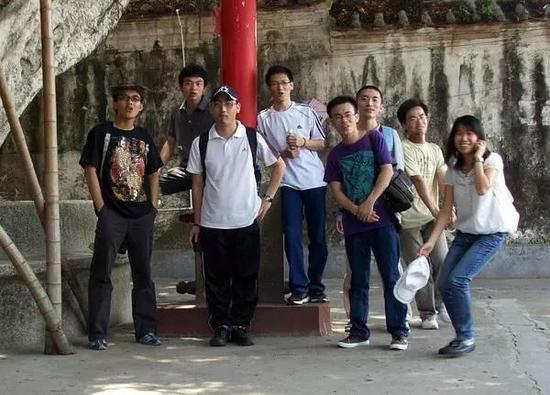 汕头暴走族第三期参与成员合照—摄于达濠古城