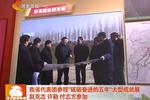 """河北省代表团参观""""砥砺奋进的五年""""大型成就展"""