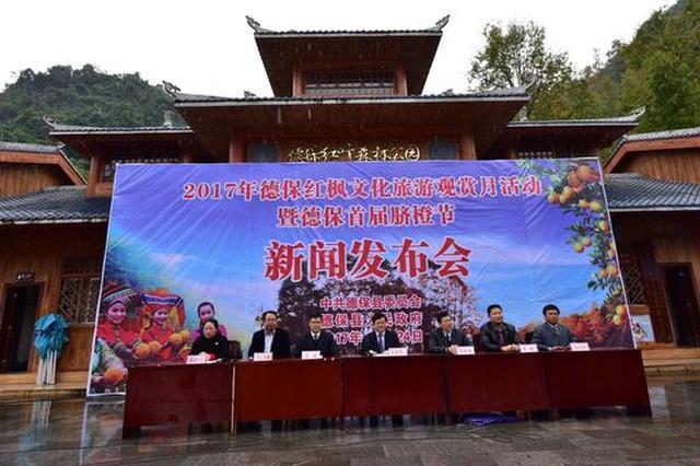 百色德保红枫文化旅游节即将燃情开幕