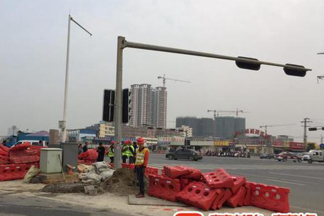 南宁五一沙井路口今起封闭施工 过往司机请注意