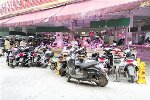 南宁农贸市场接受自治区爱卫办卫生检查