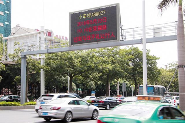 要紧!南宁:交通违法不仅受罚还将全城曝光