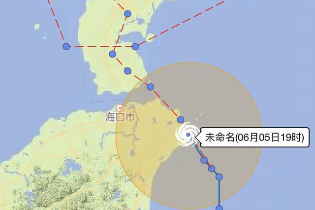 最新消息!热带风暴今夜登陆或擦过文昌沿海