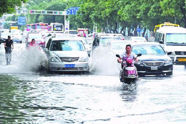 未来两小时内 巴南江津等地将出现短时强降水