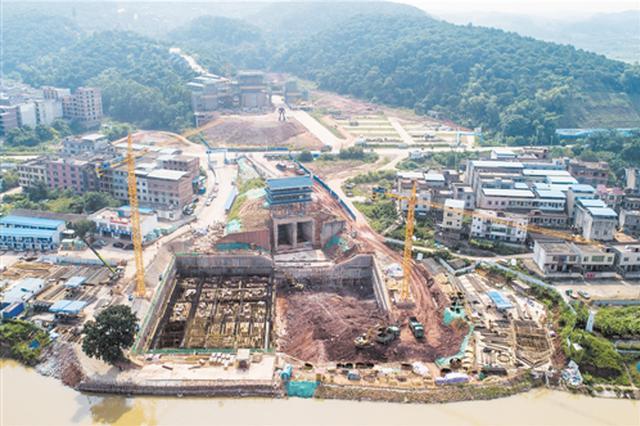 邕江上游引水工程一期项目稳步推进 母亲河水质提升