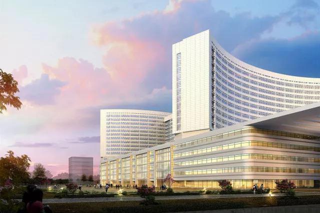 一中心新院预计明年10月底竣工 屋顶能停直升机