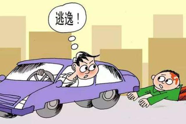 司机肇事逃逸 事后找交警询问自己是否牵涉交通事故