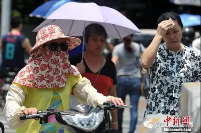 """河北发布高温橙色预警 南部继续""""烧烤""""模式"""