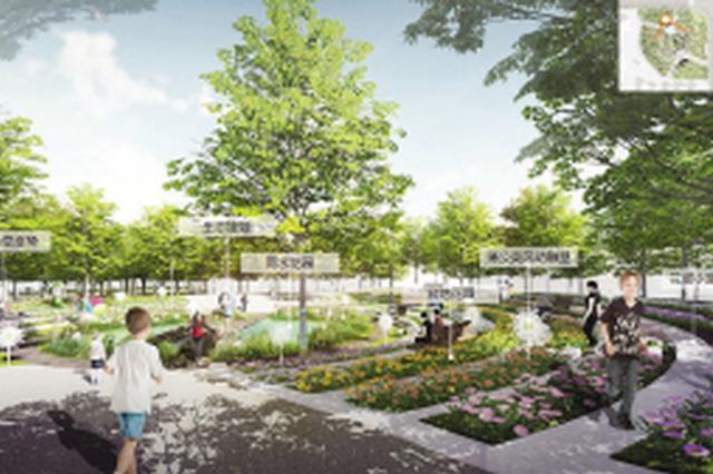 滑板车攀岩乐园全都有 生态城年内再建一处社区公园