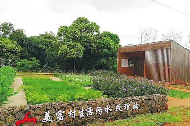 海口美富村:村民用上无害化厕所