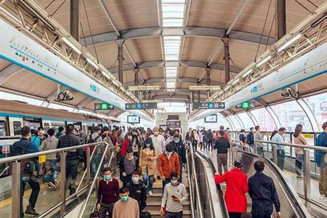 深圳地铁3号线高峰期最小间隔压缩至2分15秒
