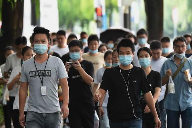 """后疫情时代深圳街头新变化:出门即戴口罩 拒绝""""裸奔"""""""