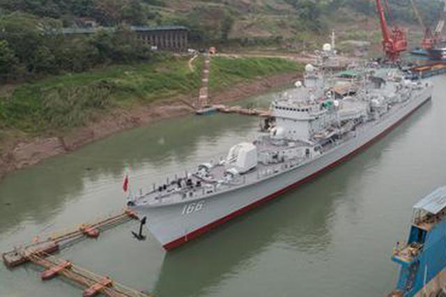 海军166舰有望7月1日亮相重庆建川博物馆