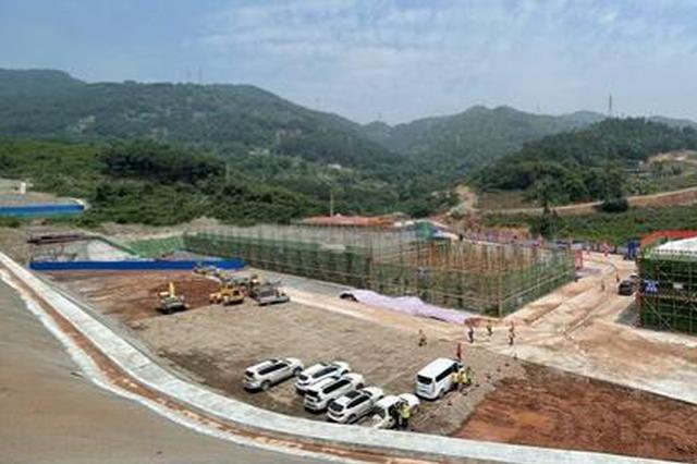 渝西水资源配置工程进展顺利 德感加压泵站将建成投运