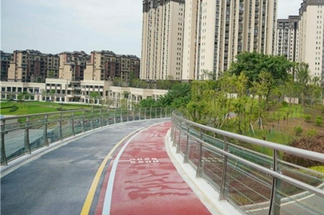 休闲健身好去处!中心城区累计开工建设17条山城步道