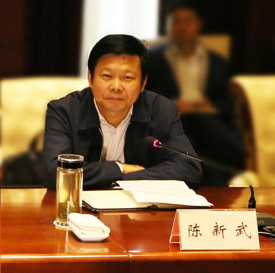 十堰市委副书记、市长陈新武